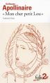 """Couverture """"Mon cher petit Lou"""" Editions Folio  (2 €) 2014"""