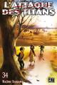 Couverture L'Attaque des Titans, tome 34 Editions Pika (Seinen) 2021