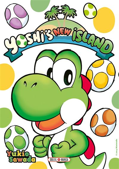 Couverture Yoshi's New Island