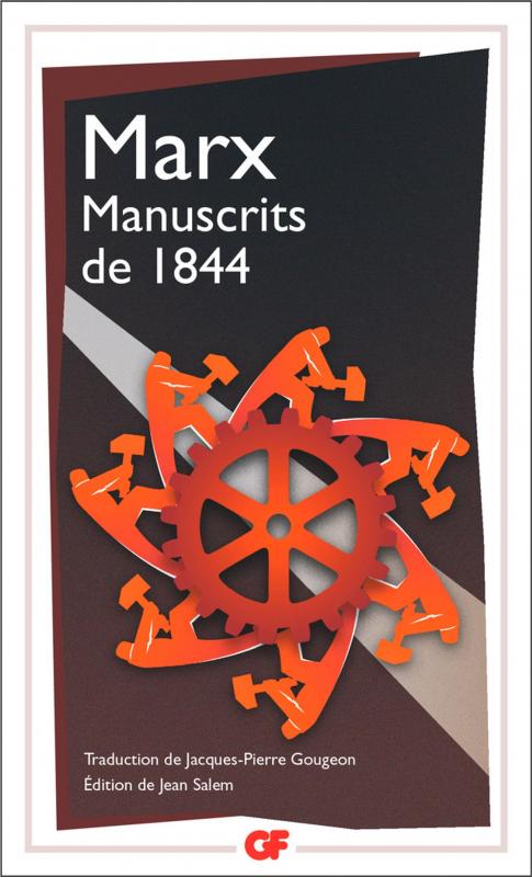 Couverture Manuscrits de 1844