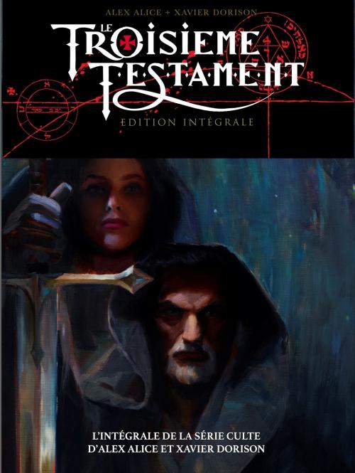Couverture Le troisième testament, intégrale