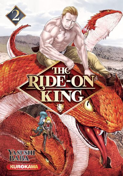 Couverture The Ride-On King, tome 2