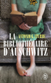 Couverture La bibliothécaire d'Auschwitz Editions J'ai Lu 2021