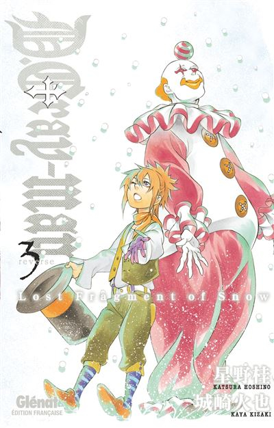 Couverture D.Gray-man Reverse, tome 3 : Lost Fragment of Snow