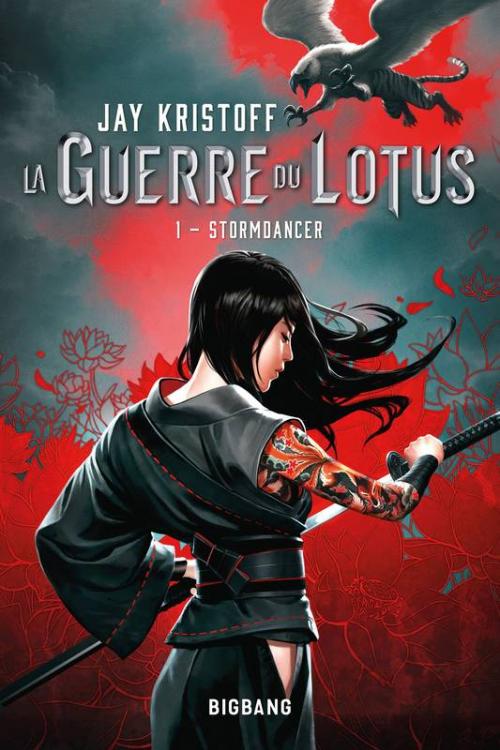 Couverture La Guerre du Lotus, tome 1 : Stormdancer