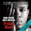 Couverture Friday Black Editions Audible studios 2021