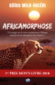 Couverture Africamorphose Editions du 38 (38 lignes blanches) 2021