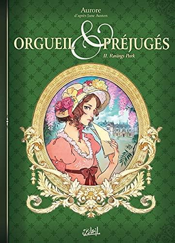 Couverture Orgueil & préjugés (roman graphique), tome 2 : Rosings Park