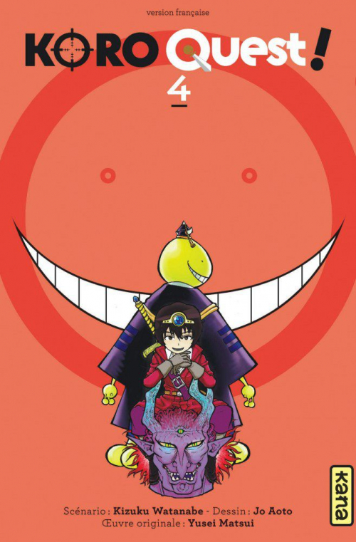 Couverture Koro quest !, tome 4