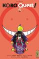Couverture Koro quest !, tome 4 Editions Kana (Shônen) 2019