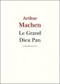 Couverture Le grand dieu Pan Editions La République des Lettres 2013