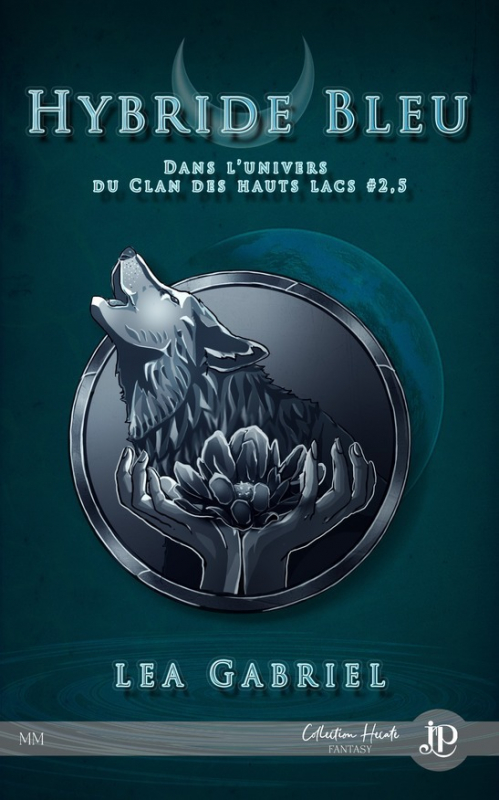 Couverture Le Clan des Hauts Lacs, tome 2.5 : Hybride bleu