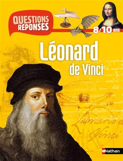 Couverture  Questions réponses : Léonard de Vinci
