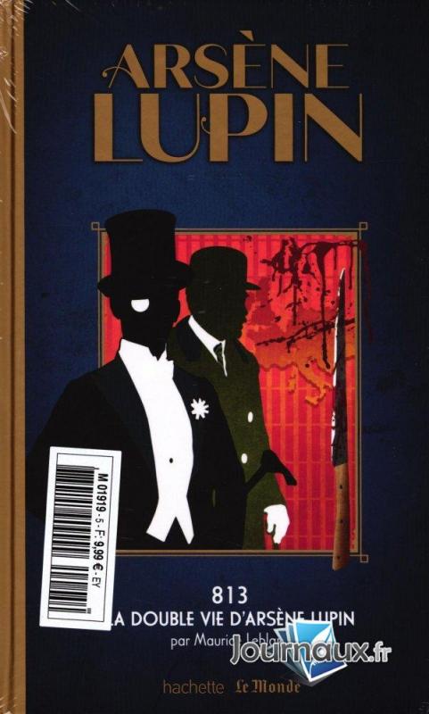 Couverture 813, tome 1 : La double vie d'Arsène Lupin