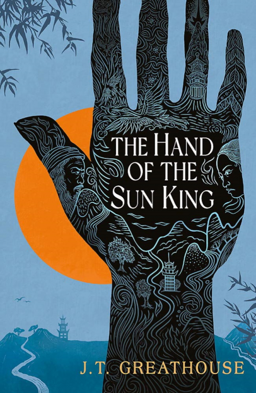 Couverture Pact and Pattern, Book 1 : The hand of the sun king