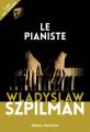 Couverture Le pianiste Editions Retrouvées 2019