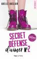 Couverture Secret Défense d'aimer, tome 2 Editions Hugo & cie (Poche - New romance) 2020