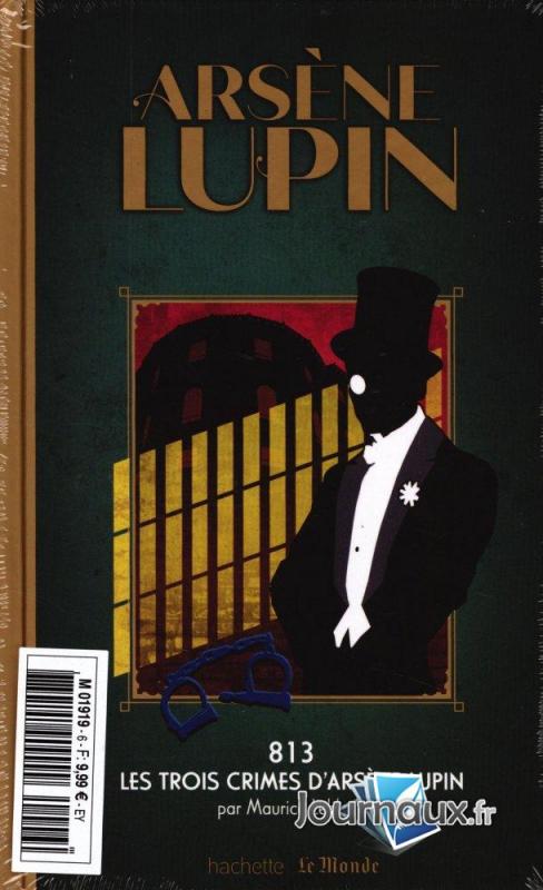 Couverture 813, tome 2 : Les trois crimes d'Arsène Lupin