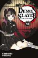 Couverture Les rôdeurs de la nuit / Demon Slayer, tome 18 Editions Panini 2021