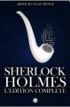 Couverture Sherlock Holmes, édition complète Editions Samuel French 2010