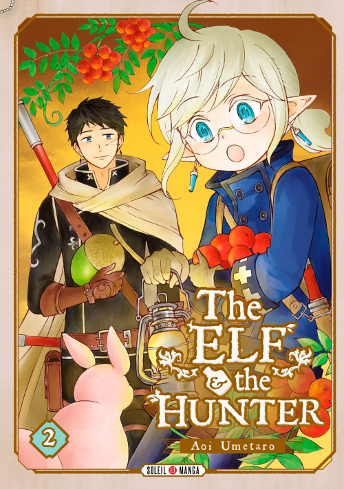 Couverture The elf and the hunter, tome 2