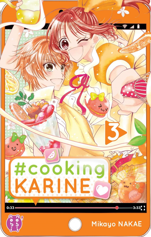 Couverture #Cooking Karine, tome 3