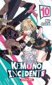 Couverture Kemono incidents, tome 10 Editions Kurokawa (Shônen) 2021