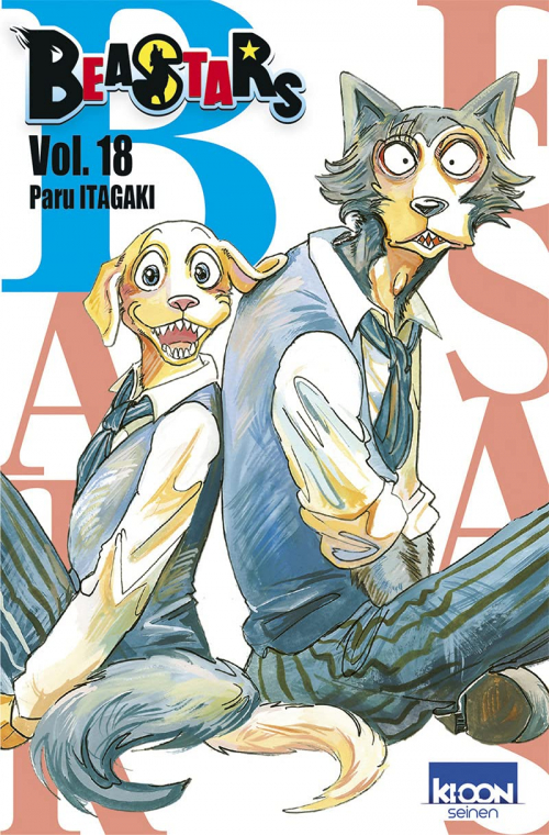 Couverture Beastars, tome 18