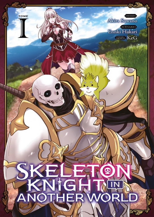 Couverture Skeleton Knight in Another World, tome 1