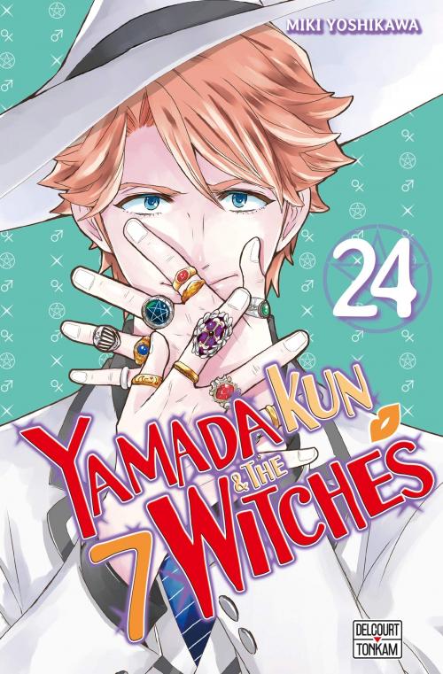 Couverture Yamada kun & the 7 witches, tome 24 (Yamada-kun to 7-nin no majyo, book 24)