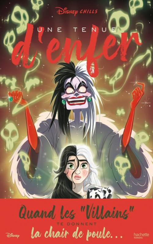 Couverture Disney Chills, tome 4 : Une tenue d'enfer