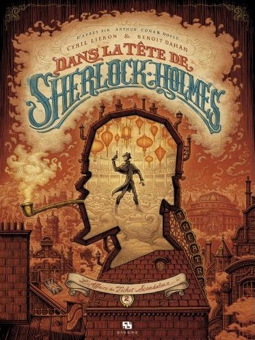 Couverture Dans la tête de Sherlock Holmes, tome 2 : L'Affaire du ticket scandaleux