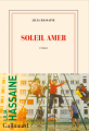 Couverture Soleil amer Editions Gallimard  (Blanche) 2021
