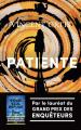 Couverture Patiente Editions Robert Laffont (La bête noire) 2021
