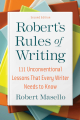 Couverture Robert's Rules of Writing (second edition) Editions Skyhorse 2021