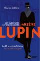 Couverture Les aventures extraordinaires d'Arsène Lupin Editions Nouveau Monde 2021