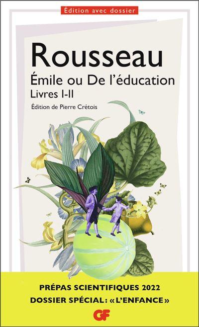 Couverture Emile ou de l'éducation