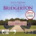 Couverture La chronique des Bridgerton, tome 2 : Anthony Editions Audible studios 2021