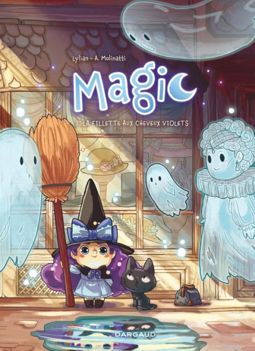 Couverture Magic, tome 1 : La fillette aux cheveux violets