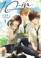 Couverture 10th : À couper le souffle, tome 1 Editions Kana (Shôjo) 2021