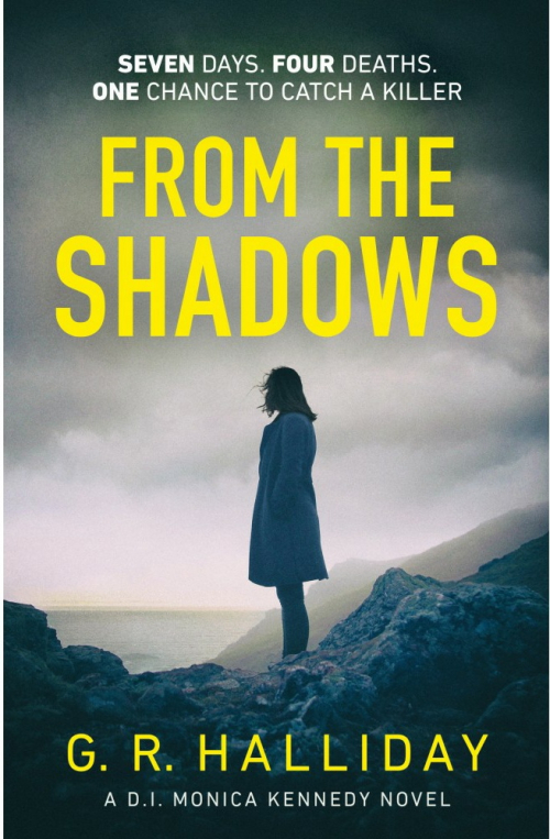 Couverture D. I. Monica Kennedy, book 1: From the shadows