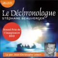 Couverture Le Déchronologue Editions Audiolib 2020