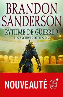 Couverture Les archives de Roshar, tome 8 : Rythme de Guerre, partie 2