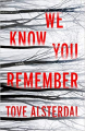 Couverture We Know You Remember Editions Harper 2021