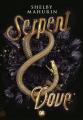Couverture Serpent & Dove, tome 1 Editions de Saxus 2021