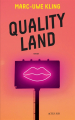 Couverture Quality Land Editions Actes Sud (Exofictions) 2021