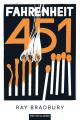 Couverture Fahrenheit 451 Editions Belin 2021