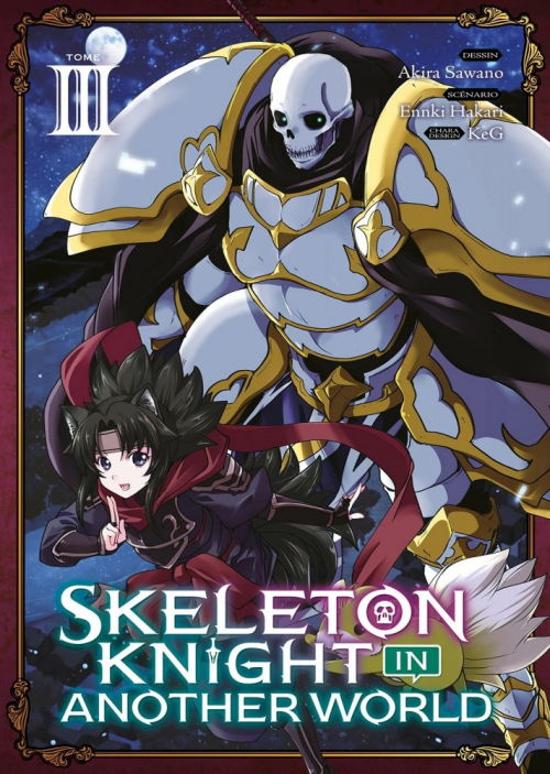 Couverture Skeleton Knight in Another World, tome 3