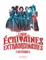 Couverture La Ligue des écrivaines extraordinaires, intégrale Editions Les Moutons Electriques 2020