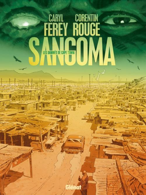Couverture Sangoma, les damnés de Cape Town